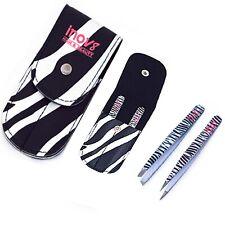 Slanted/Point Tip Tweezers Set Eyebrow Hair Beauty Tweezer Professional Pluckers