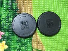 2x  iShoot Rear Lens cap for Olympus Lumix Micro 4/3 M4/3 M 43 lens