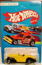 1980 Hot Wheels Auburn 852 Boattail Speedster, UNPUNCHED Blue Card No.2505,VHTF