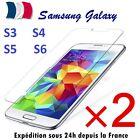 2 x Verre Trempé Film de protection d'écran pour Samsung S3 ★ S4 ★ S5 ★ S6