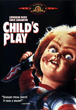 """Child's Play Horror Silk Fabric Movie Poster New 24""""x36"""""""
