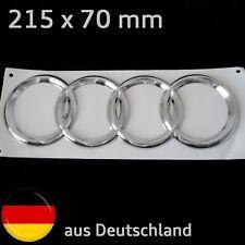 Audi Kühlergrill Emblem Logo Zeichen Motorhaube Motorsport Ersatz S line Ring
