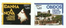 Portugal 2017 - Creative UNESCO Cities - Óbidos and Idanha-a-Nova set MNH