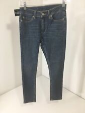 CHEAP MONDAY WOMEN'S PRIME CROPPED SKINNY JEANS MEDIUM WASH 25W NWT $75