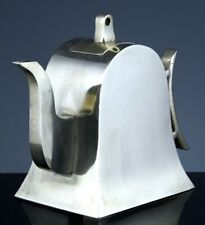 GREAT ANTIQUE CHINESE SILVER & BRONZE YIXING DESIGN WINE POT TEAPOT HALLMARKED 1