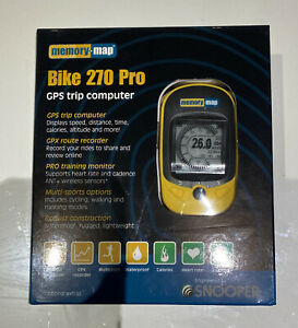 Memory Map Bike 270 Pro GPS Trip Computer Route Recorder - Brand New