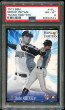 2013 JAPANESE BBM YOUNG FIGHTERS YF01 Ohtani Shohei RC PSA 8 NM-MINT