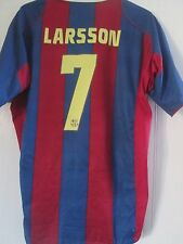 Barcelona Larsson 7 2004-2005 Hogar Camiseta De Fútbol Talla XL/41314