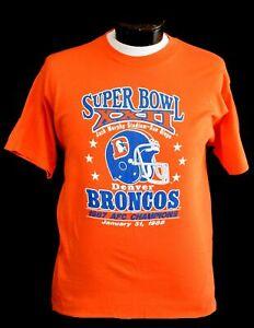 Denver Broncos Football T Shirt NFL Champ 2022 Sport Super Bowl Vintage Men Gift