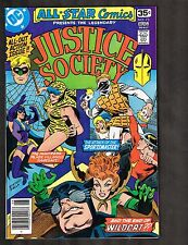 All Star Comics #73 ~ Justice Society / Wildcat / Huntress ~~ (8.5) WH