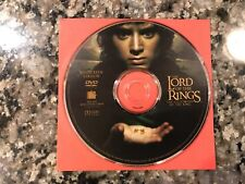 The Lord Of The Rings The Fellowship Of The Ring Dvd! 2001 Fantasy Action!