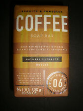 New Asquith & Somerset Made in Portugal 10.58oz Bath Bar Soap Coffee with Shea