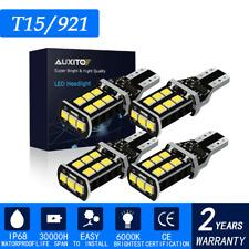 New listing 4x 6000K White 921 912 T15 Error Free Led Bulb Reverse Backup Tail Light