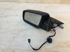142# BMW E60 550I 535I DRIVER DOOR AUTO FOLD MIRROR GLASS WITH LANE ASSIST OEM