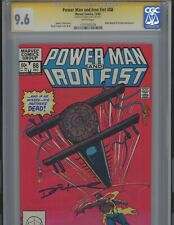 Power Man and Iron Fist #88. 9.6  Signed by the late Denny O'Neil  CGC
