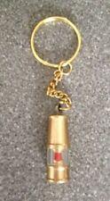 New Solid Brass Miner Lamp Key Ring   - Mining Fob