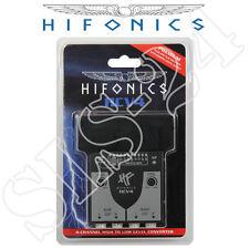 Hifonics HCV4 High To Low Level Converter 4-Kanal Lautsprecher Radio Adapter CIN