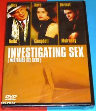 INVESTIGATING SEX / Intimate Affairs - MISTERIOS DEL SEXO English español DVD R2