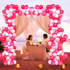 Macaron Rose Rose Ballon Arc Guirlande Pour St.Valentin Décoration Mariage Fête