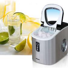 220V Stainless Commercial Ice Cube Maker Portable Ice Machine Restaurant