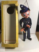 Vintage Pelham Puppets SM  Policeman With Box