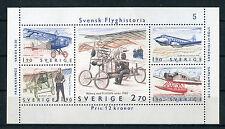 Svezia/Sweden 1984 bf 12 storia aviazione svedese mnh