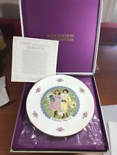 collectible valentine's day Royal Doulton plate 1976 England
