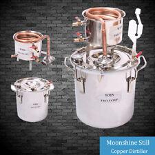 8 Gallon Moonshine Still Home Distiller Spirits Wine Water Alcohol Brewing Kit