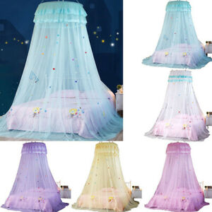 Mosquito Net Bed  Home Bedding Lace Canopy Elegant Netting