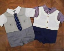 Lot 2 Boys BABY TOGS Dressy Church One Piece Outfits 3-6 Months