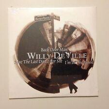 RARE CD PROMO WILLY DE VILLE BACK DOOR MAN // SOUS BLISTER