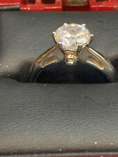 925 DQCZ Wedding Ring Size 8.5