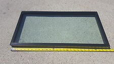 SAFETY GLASS WINDOW CAMPER MINI HOUSE TRAILER APX 27 3/4 X 14 CP1R2T1