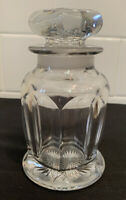 Antique Vintage EAPG MINIATURE Glass Apothecary Candy Soda Fountain Bottle Jar
