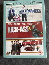 Role Models/ Kick-Ass/ Superbad Box Set NEW SEALED DVD