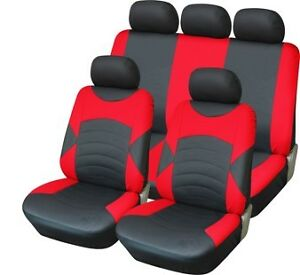 "VOLKSWAGEN T4 1989-2003 UPHOLSTERY FABRIC /""Tuning/"" FRONT UNIVERSAL SEAT COVERS"