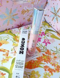 Buxom Full-On Top Coat Plumping Lip Polish MARIAH 0.14 Oz. NIB Makeup Freeship