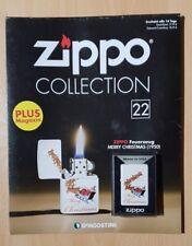 Original Zippo Collection Sturmfeuerzeug Nr.22 Merry Chrismas (1950)Sammlung OVP