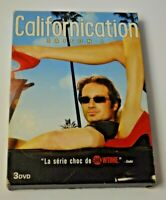 COFFRET 3 DVD CALIFORNICATION INTEGRALE SAISON 1 SERIE