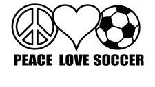 Soccer Fan Car Sticker