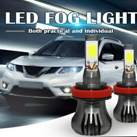H8/H9/H11 80W 9600LM 6000k LED Headlight Fog Driving Light Canbus Lamp Bulb WO