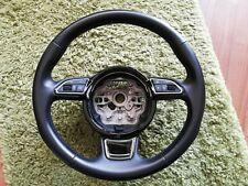 Audi A6 4g c7 Lenkrad mit Bedientasten soul schwarz