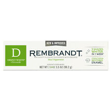 REMBRANDT Deeply white + Toothpaste  New Improved 99.2 g 3.5 OZ
