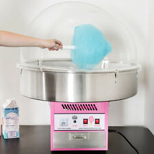 New Carnival King Electric Commercial Cotton Candy Machine Maker Fair Concession