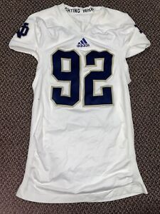 2012 TEAM ISSUED NOTRE DAME FOOTBALL AWAY JERSEY
