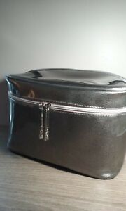 "Lancome Cosmetic Makeup Bag Train Case Travel Bag Size (9""x5.5'x6"") BRAND NEW"
