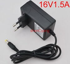 AC Adapter DC 16V 1.5A Switching power supply Charger EU plug 5.5mm 24W 1500mA