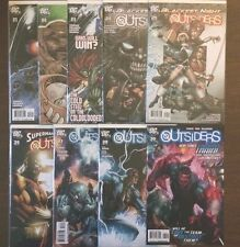 OUTSIDERS 2009 4th SERIES LOT OF 9 Comics #21 22 23 24 25 26 27 28 30 VF+