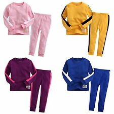 "Vaenait Baby Infant Kid Boys Girls Clothes 4Color Pajama Set ""Bruce Lee""12M-7T"