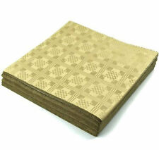Gold Paper Table Cloths 5 10 15 20 25 Party Tablecloths Covers Damask Dispo 1 Sample